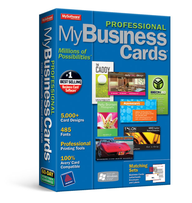 MyProfessional Business Cards 7
