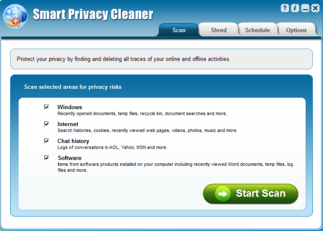 Smart Privacy Cleaner - Making sure your private information stays