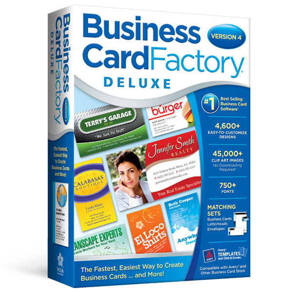 Business card factory deluxe 40 avanquest business card factory deluxe 40 colourmoves
