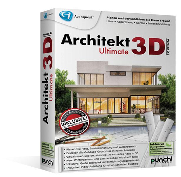 Architekt 3D X7.5 Ultimate   Upgrade Version