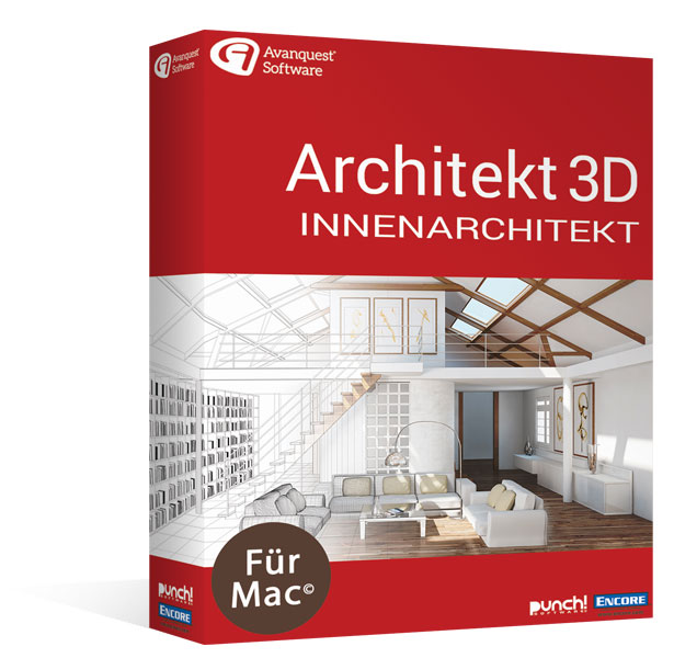 Architekt 3D 20 Innenarchitekt für MAC