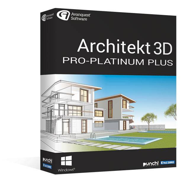 Architekt 3D 20 Pro-Platinum Plus