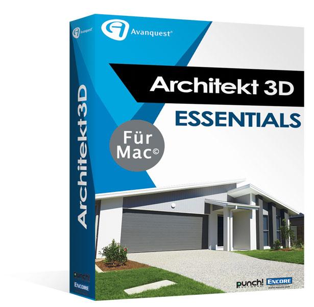 architekt 3d 2017 x9 silver f r mac. Black Bedroom Furniture Sets. Home Design Ideas