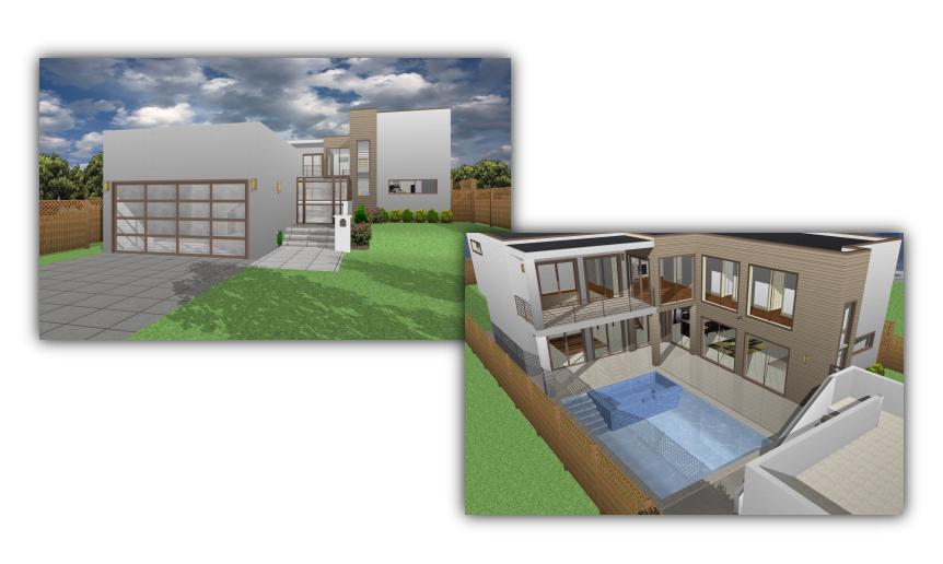 Exceptional Fotorealistische Haus  Und Gartenplanung Für Ihren PC