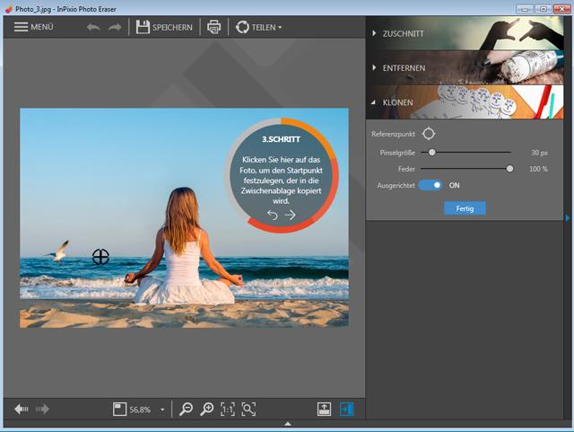 Die digitale Schere für Ihre Fotos