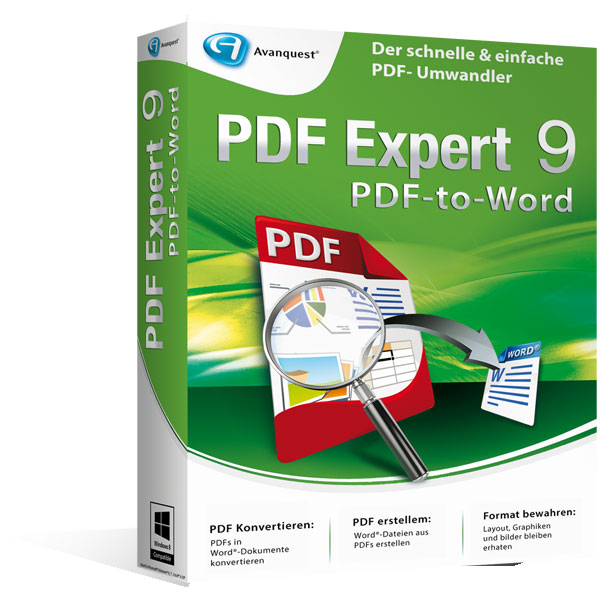 PDF Experte 9 PDF-to-Word - Upgrade-Version