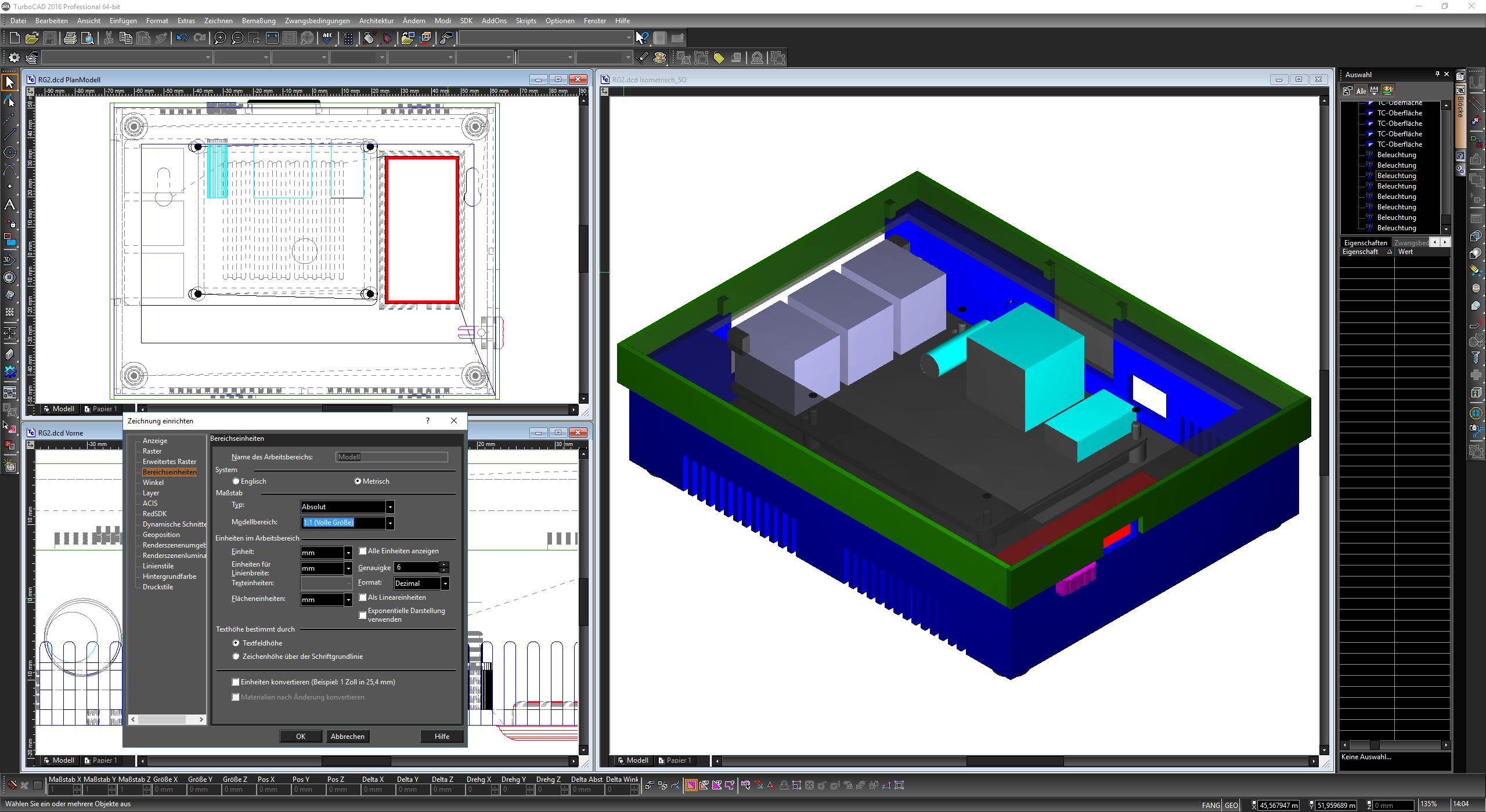 Erstklassige und professionelle 2D-/3D-CAD-Software