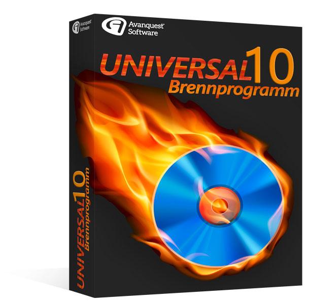 Universal Brennprogramm 10
