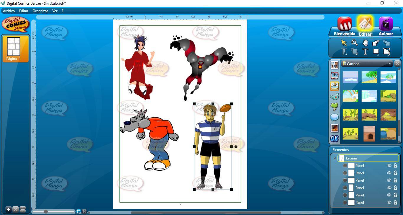 Resultado de imagen para Digital Comic Studio Deluxe 1
