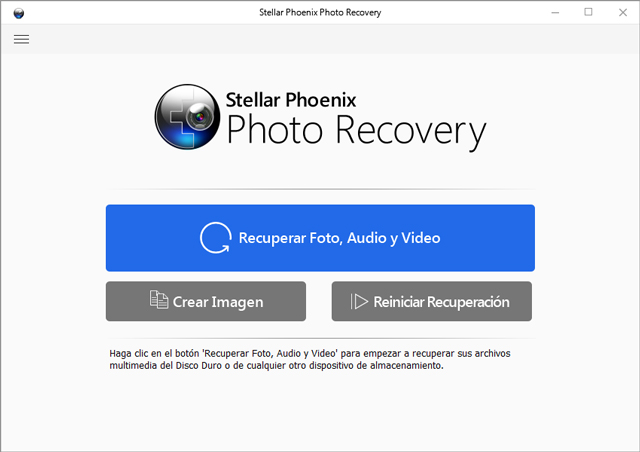 Stellar Photo Recovery Pro 10.0.0.2 [Multilenguaje] [Tres Servidores] Home