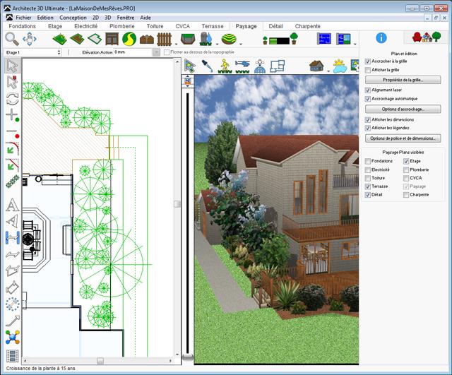 Architecte 3d jardin et ext rieur 2017 v19 planifiez for Jardin 3d mac