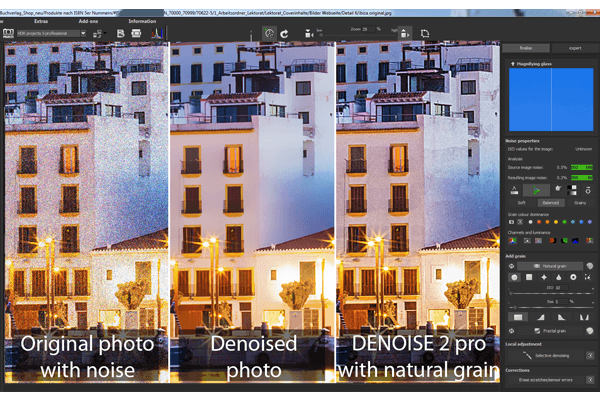 Remove photo noise – for perfect pictures!