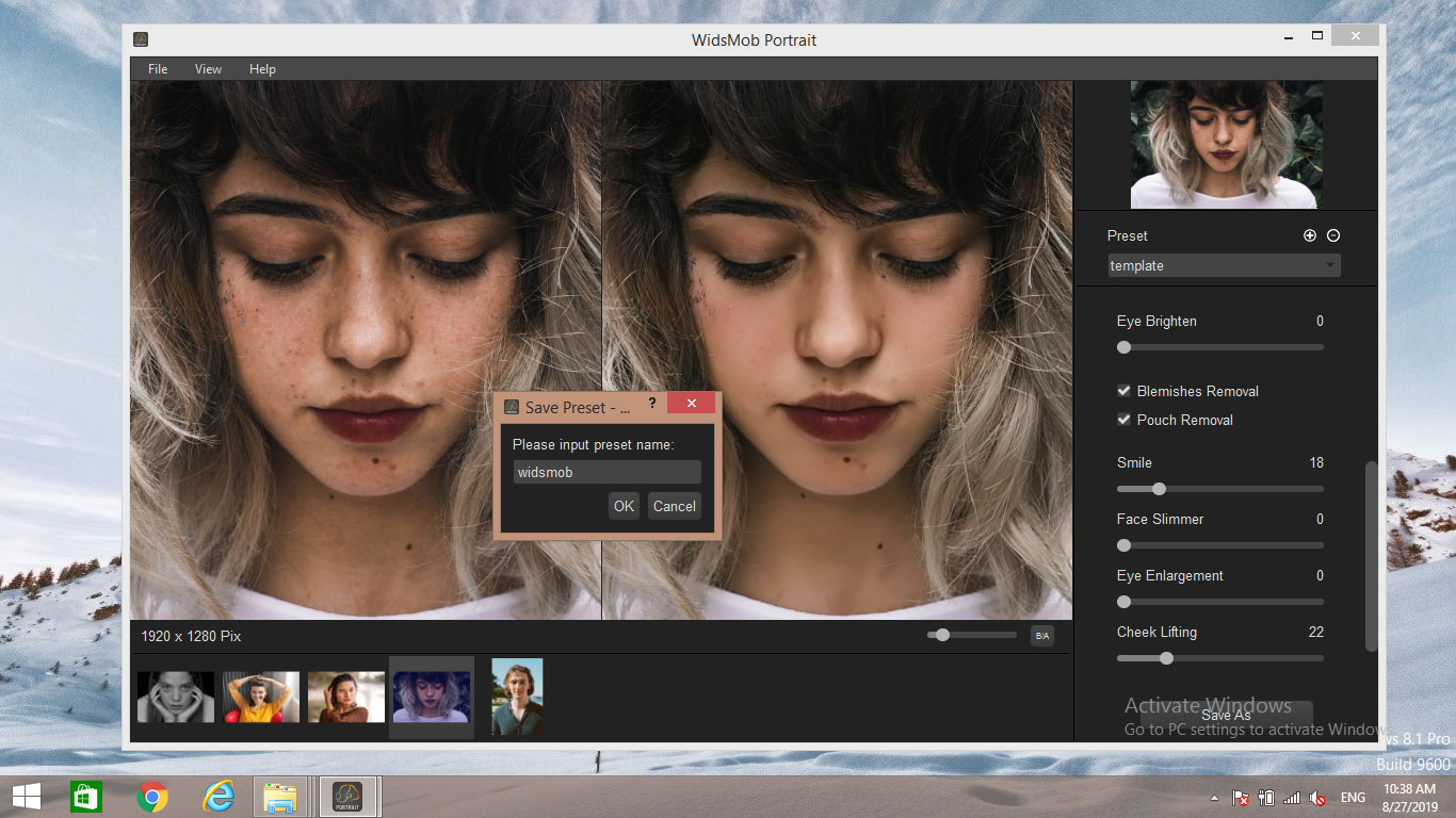 Portrait editing accessible to all
