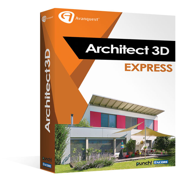 Architect 3d express 2017 design the home of your dreams for 3d architecture software online