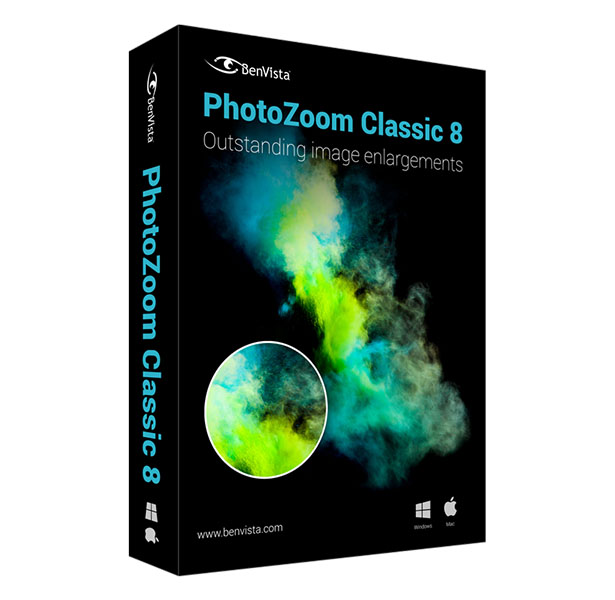 PhotoZoom Classic 8 Windows