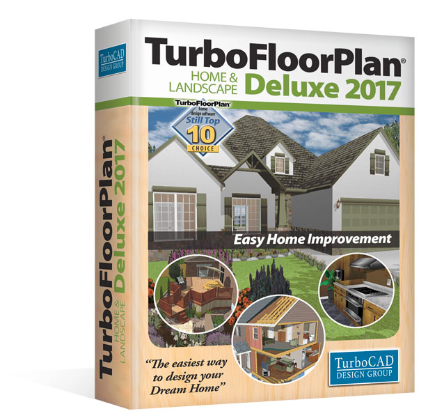 Turbofloorplan 3d home landscape deluxe the complete for Home garden 3d design