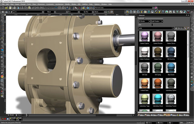 Premium 2D/3D CAD with specialised professional toolsets.