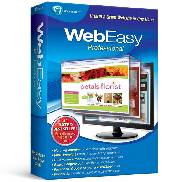 Webeasy Professional 10 Avanquest